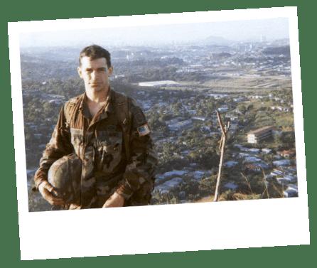 Stewart Breeding Military photo